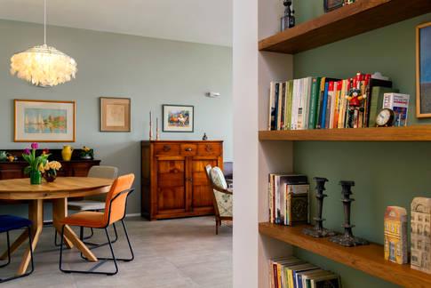 אקלקטיקה וצבעוניות - משרים אוירה של בית