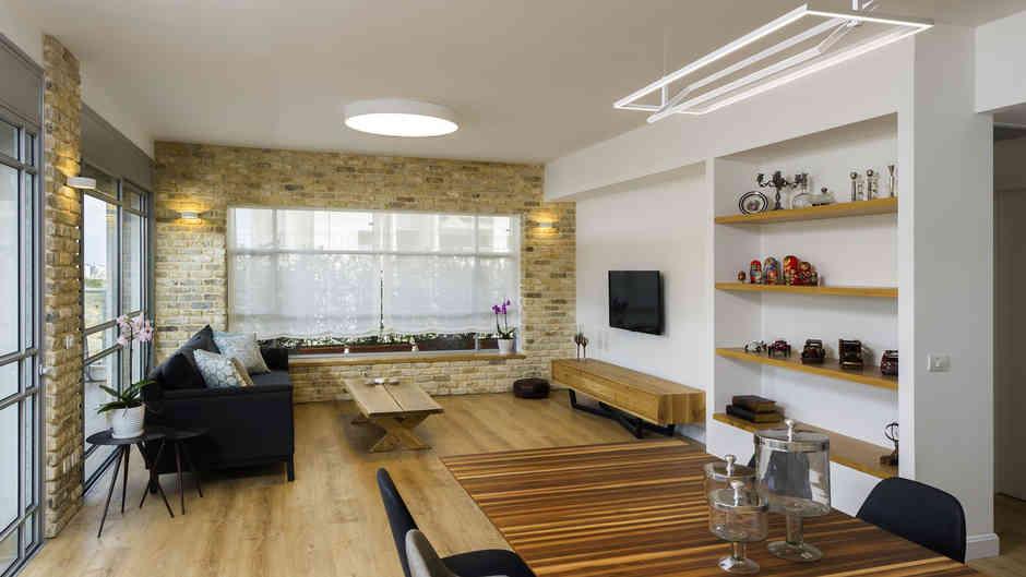 עיצוב דירת פנטהאוז בגני תקווה