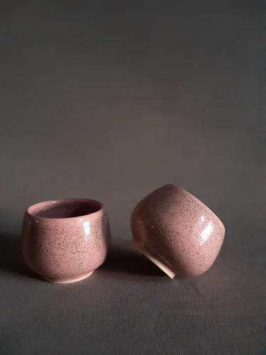 Hug Cups - Pink - set of two
