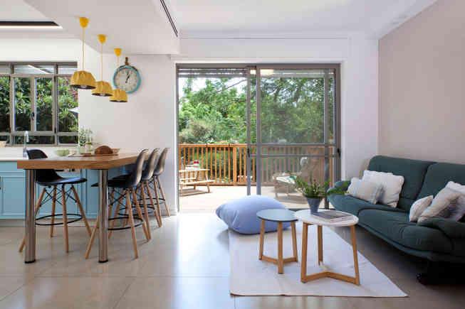 דירה צבעונית בחיפה