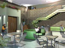 תכנון ועיצוב ספריה עירונית בקריית מלאכי