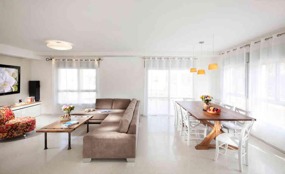 עיצוב בית בקיבוץ בצפון
