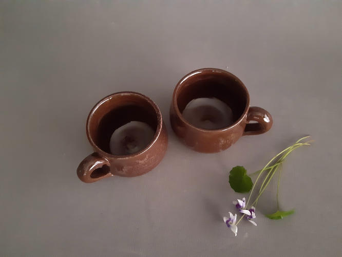 Espresso handled cups - set of two