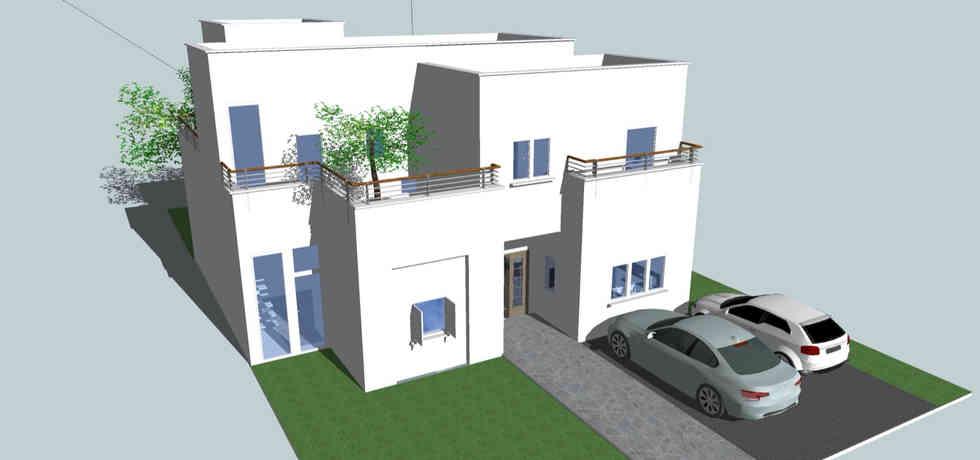 בית בשלבי תכנון - להבות חביבה