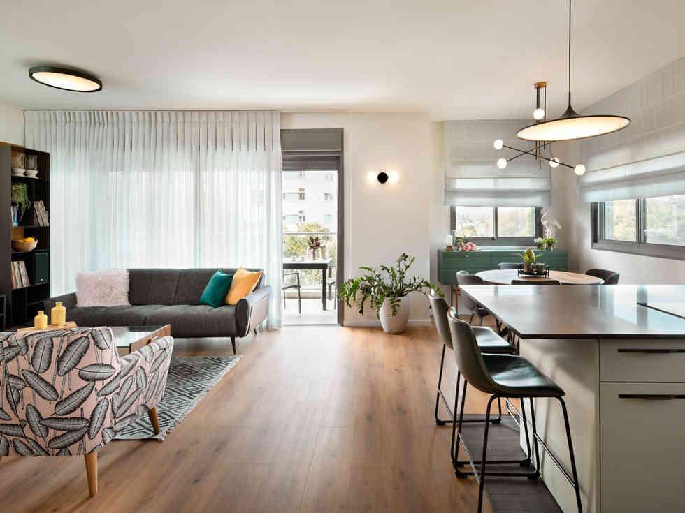 דירה ירוקה מול פארק הירקון