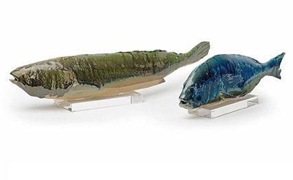 Διακοσμητικά κεραμικά ψάρια / Decorate Ceramic Fishes