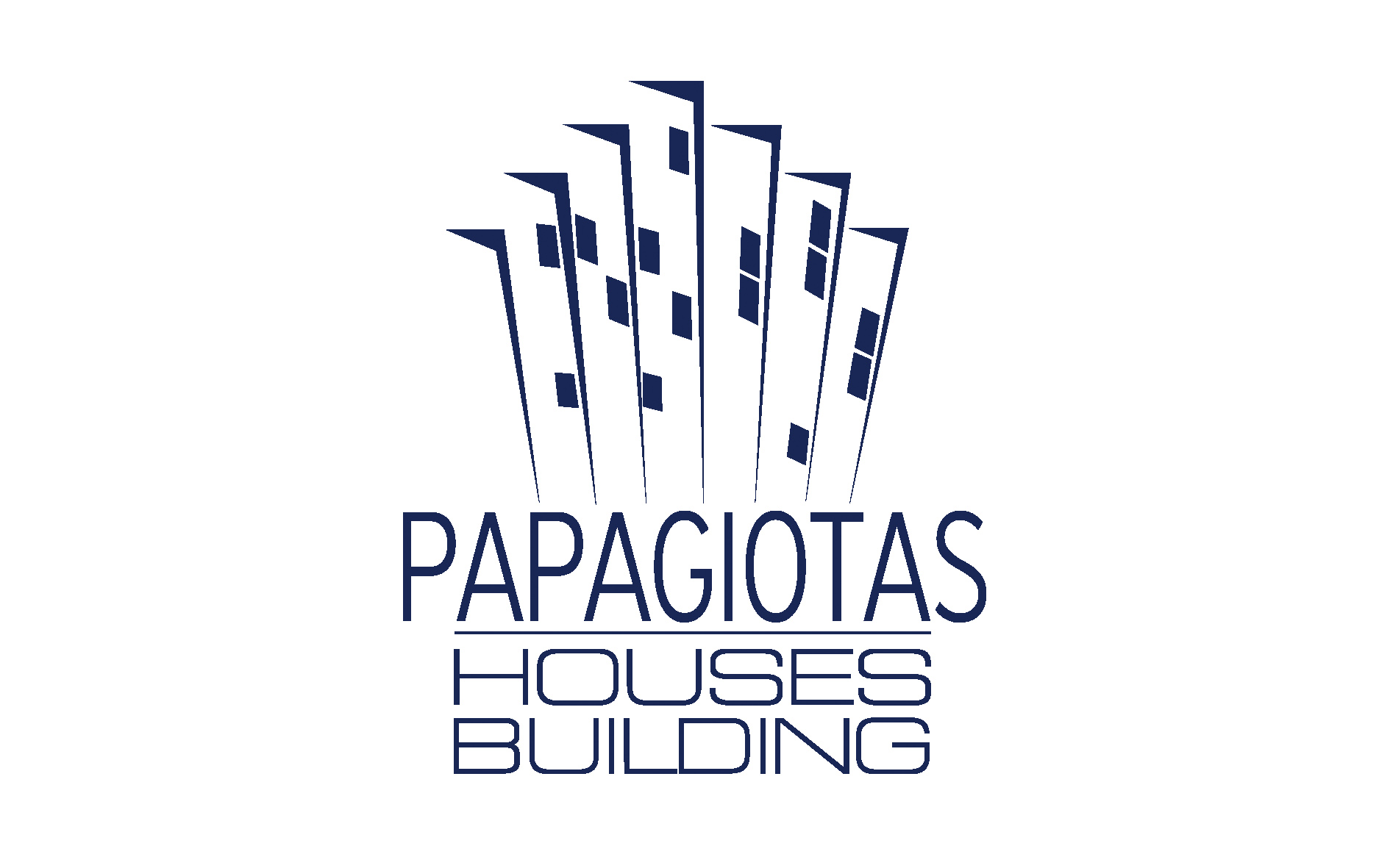 Papagiotas houses building