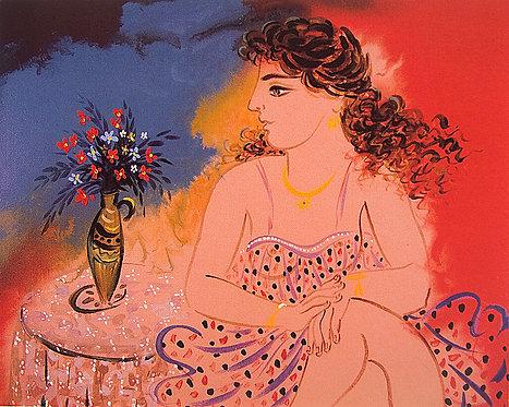 Κοπέλα με βάζο / Girl with vase