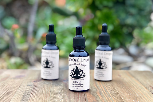 1000mg CBD Oral Drops 'Extra Strength'