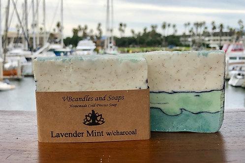 Lavender Mint w/charcoal