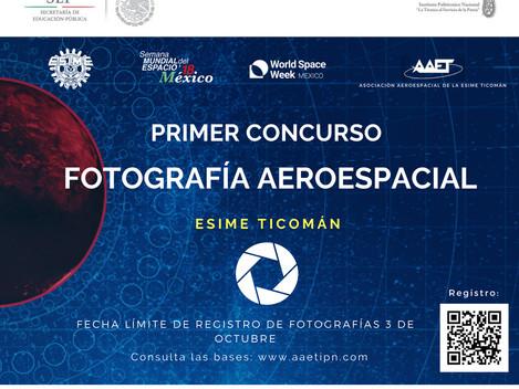 Convocatoria Oficial para el Concurso de fotografía aeroespacial 2018