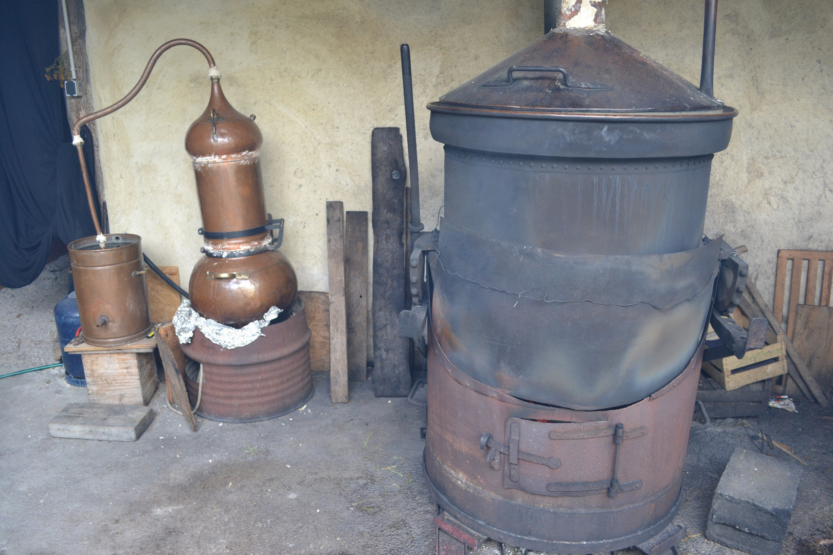 Smaller distillation