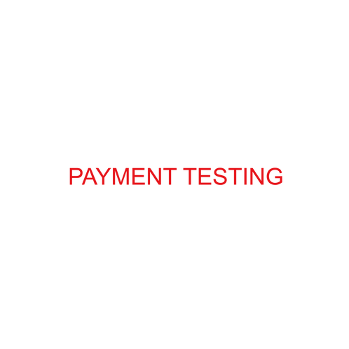 PAYMENT TESTING