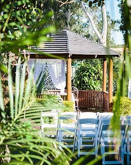 wedding garden rotunda