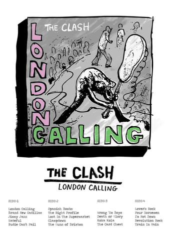 London Calling - Rebel Pencil