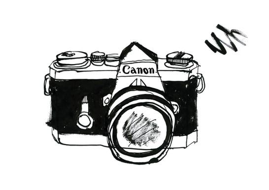 Camera - Rebel Pencil