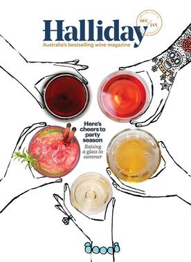 Front Cover - Halliday Magazine