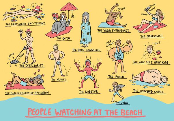 Beach Watching - The Sunday Telegraph