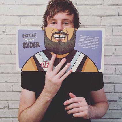 Footy Beards & Mos - Hardie Grant Publishing