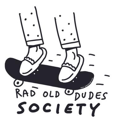 Rad Old Dudes Society - Logo
