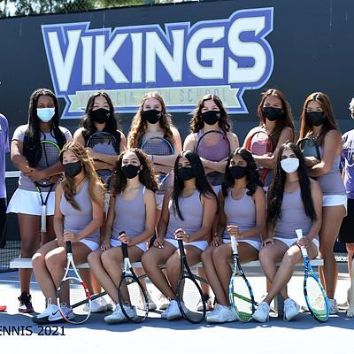 2021 VALENCIA GIRLS JV/VAR TENNIS