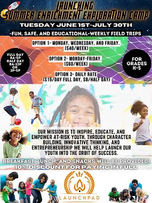 Launching Summer Enrichment & Exploratio