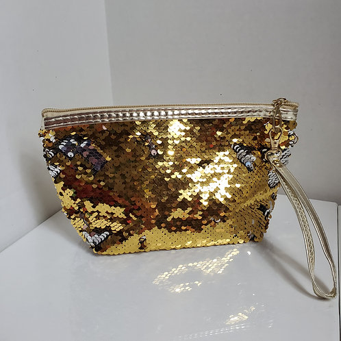 Bling Small Gold Bag 8 1/2 x 5