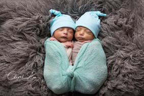 Oliver & Benjamin Newborn