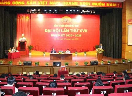 Đại hội Đảng bộ Viện Dầu khí Việt Nam lần thứ XVII, nhiệm kỳ 2020 - 2025: