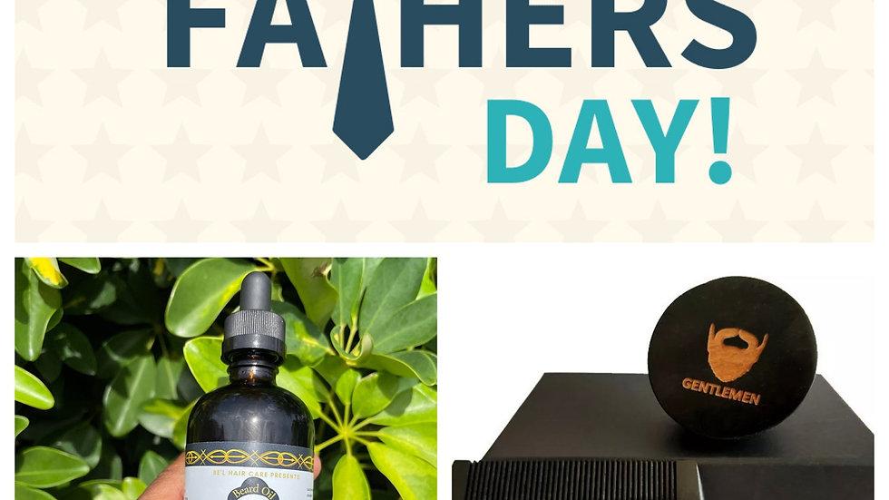 Beard oil with Oval Black Boar Hair Bristle Beard Brush&Beard Comb Set Customize