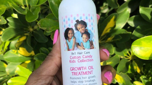 Cotton Candy Kids Collection- Hair Growth Oil Treatment