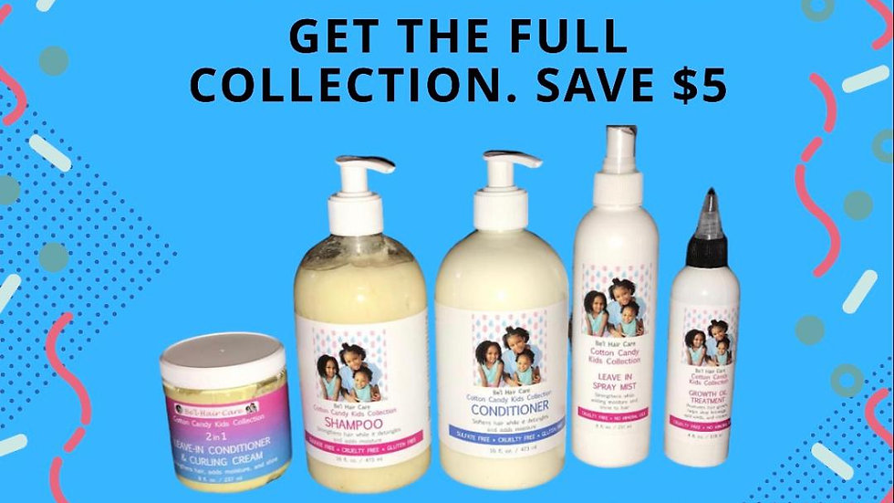 Cotton Candy Kids Collection- Save $5