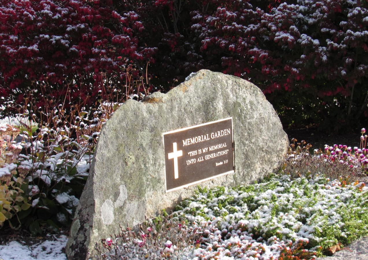 Frosted Memorial Garden.JPG