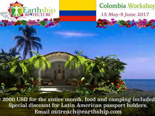 Earthship Workshop, Columbia, LEARN TO LIVE OFF THE GRID