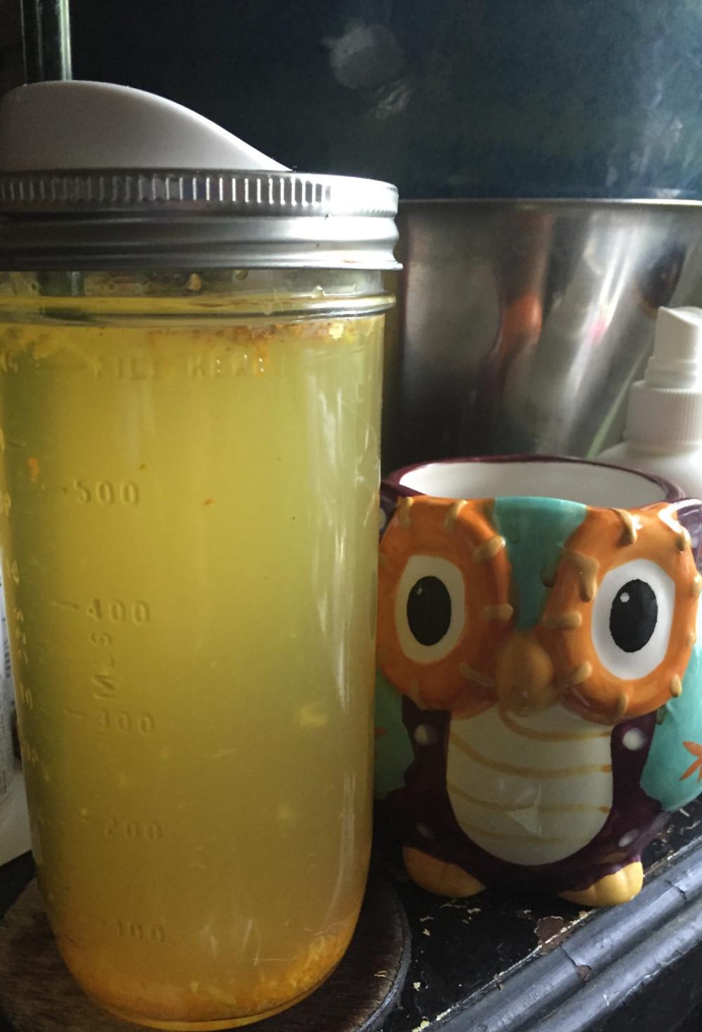 1 lb turmeric, 1 lb ginger