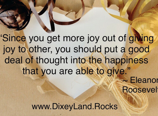 Mindfully Giving Happiness