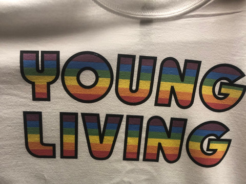 New Organic Young Living Harmony T-shirt's