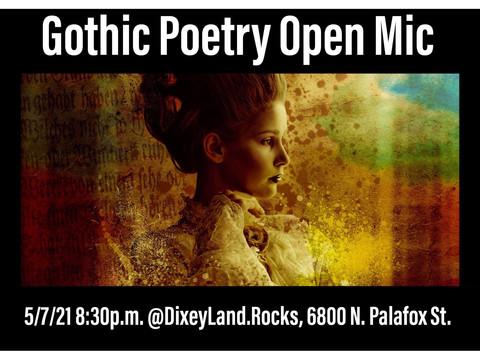 Goth Poetry Reading & Birthday Celebration