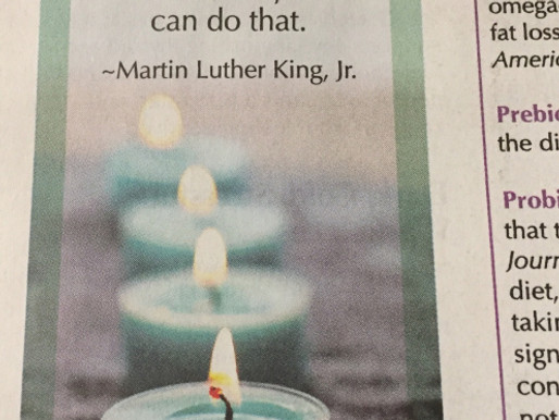 Happy Martin Luther King, Jr. Day.