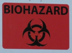 Radioactive Sludge, Columbia River, Richland, Washinton