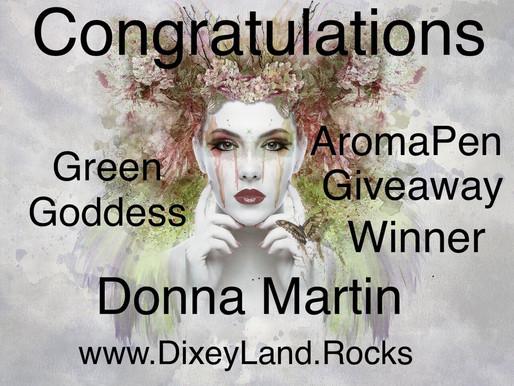 AromaPen Giveaway Winner