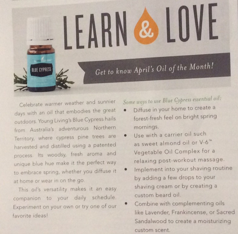 Young Living Blue Cypress