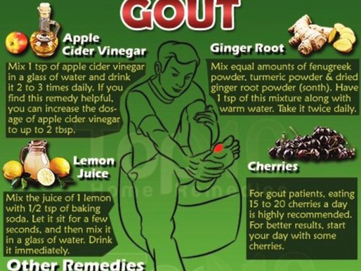Top 10 Home Remedies For Gout