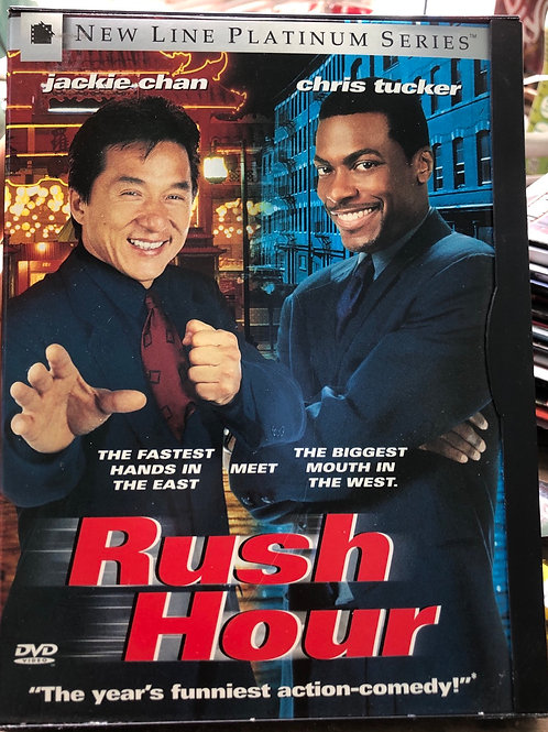 Rush Hour (DVD, 1999, Platinum Series)