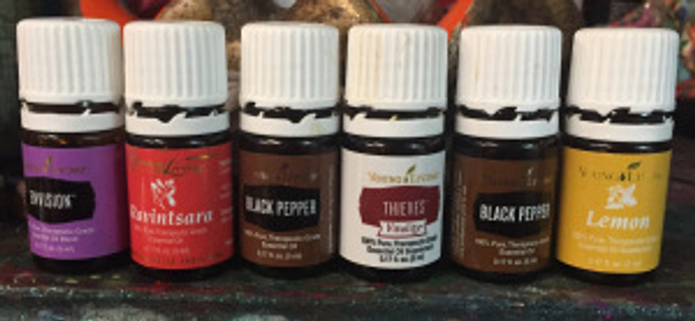 Young Living Essential Oils Class on Thieves