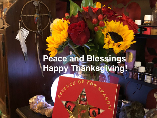 Peace and Blessing, Happy Thanksgiving