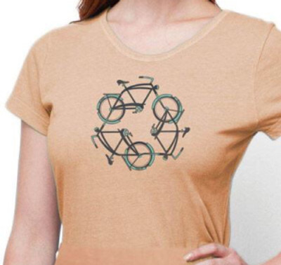 New Women's Organic Cotton T-shirt – Recycle XL, Sunstone, Giveaway Reminder