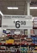 Texas Grapefruit, Sam's, Pensacola, FL