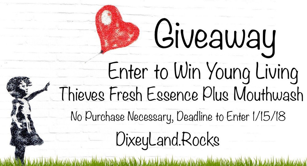 DixeyLand Young Living Mouthwash Giveaway