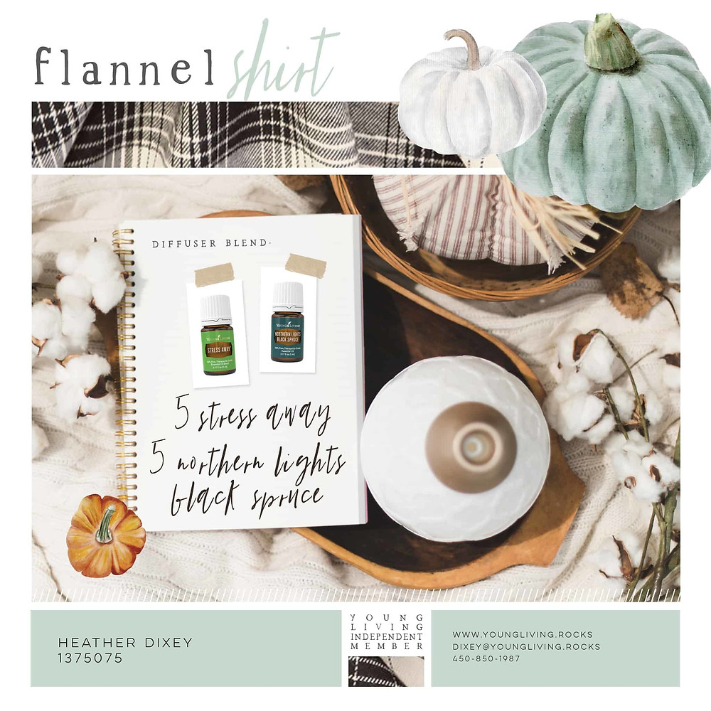 Cozy Up Your Space, Fall, Flannel Shirt Essential Oil Blend!